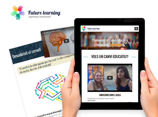 Nueva web corporativa para Future Learning