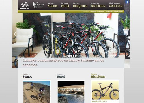 Diseño web Corporativa Sports Unlimited
