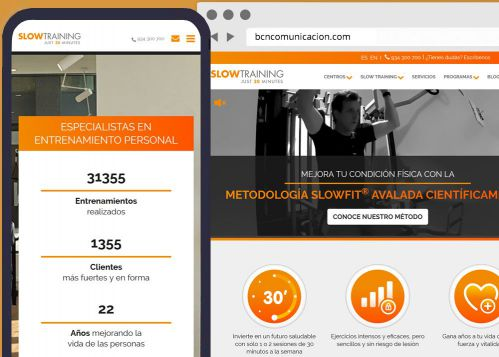 Programación web corporativa Slow Training