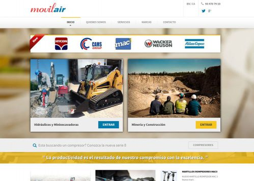 Web Autogestionable para Movilair