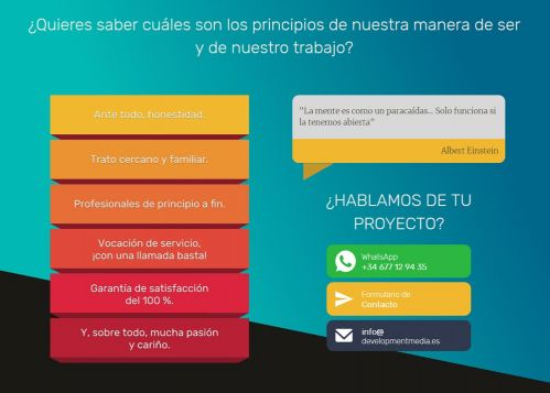 Web Corporativa Agencia de marketing