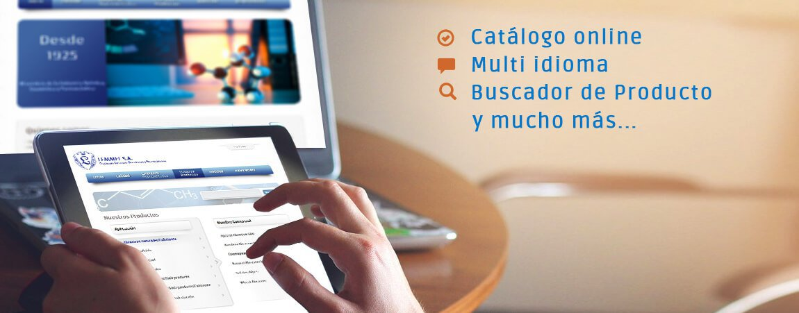 catalogo web corporativa